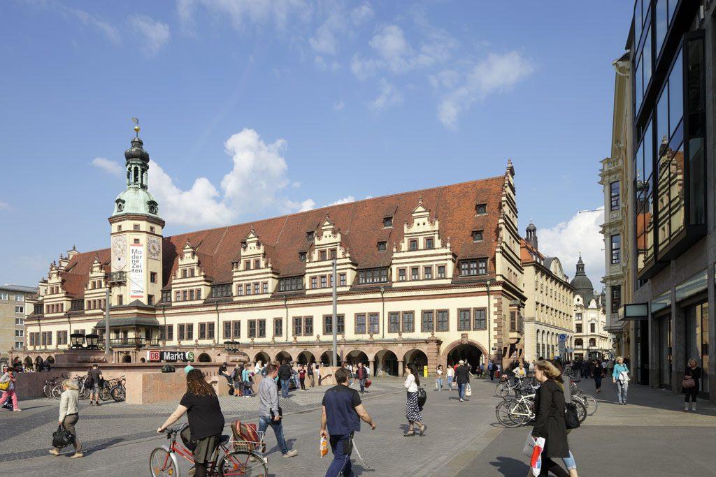 Leipzig Altes Rathaus Markt